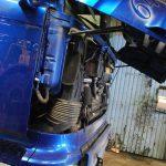 Lastbilsreparation
